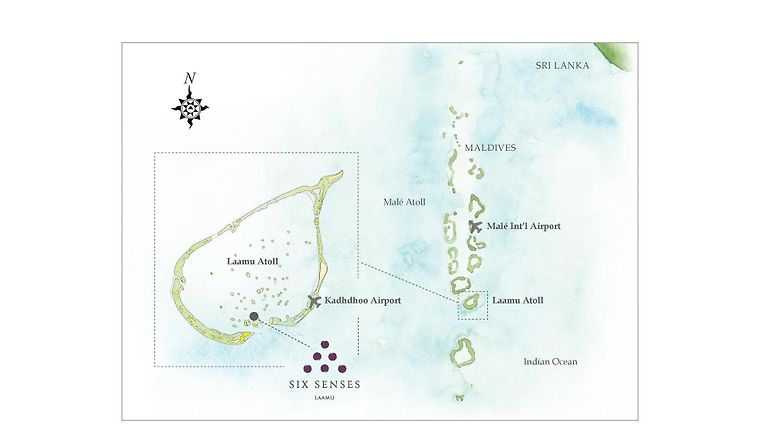 HOTEL SIX SENSES LAAMU LAAMU ATOLL 5 Maldives from US 1166