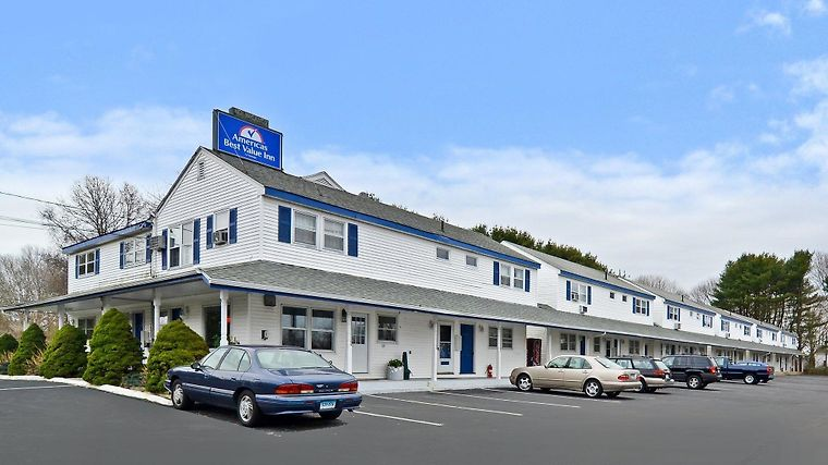 Americas Best Value Inn - Stonington/Mystic Exterior