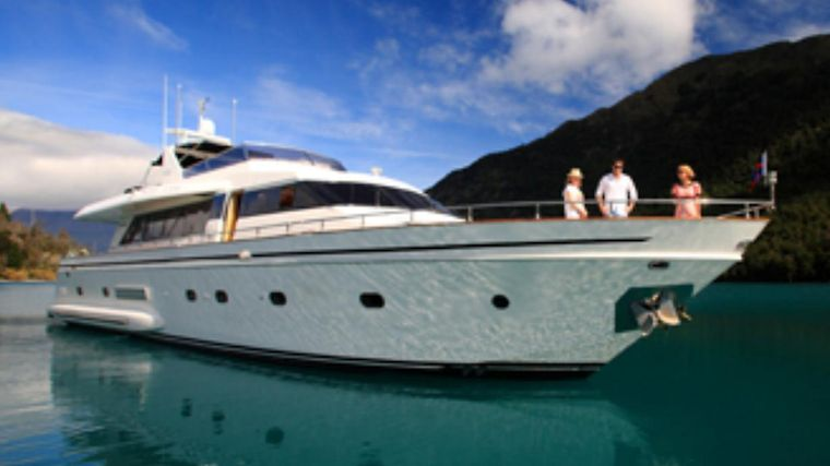 Pacific Jemm - Luxury Super Yacht - Queenstown Nz Exterior