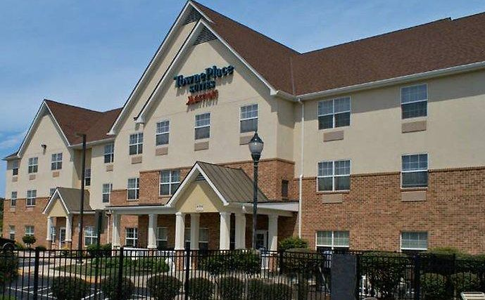 Towneplace Suites Fredericksburg Exterior