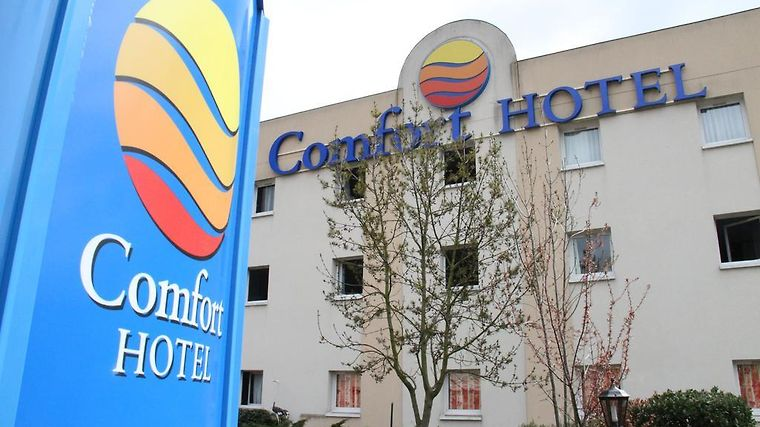 Comfort Hotel Poissy Technoparc Exterior Hotel information