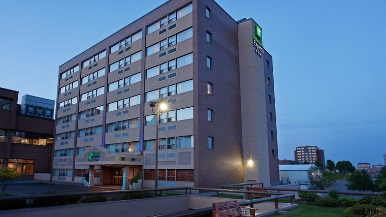 Holiday Inn Express Hotel & Suites Saint John Harbour Side Exterior