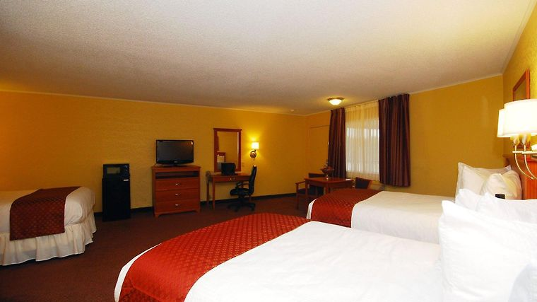Americas Best Value Inn Center Room
