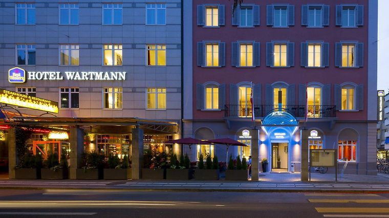 Best Western Hotel Wartmann Am Bahnhof photos Exterior