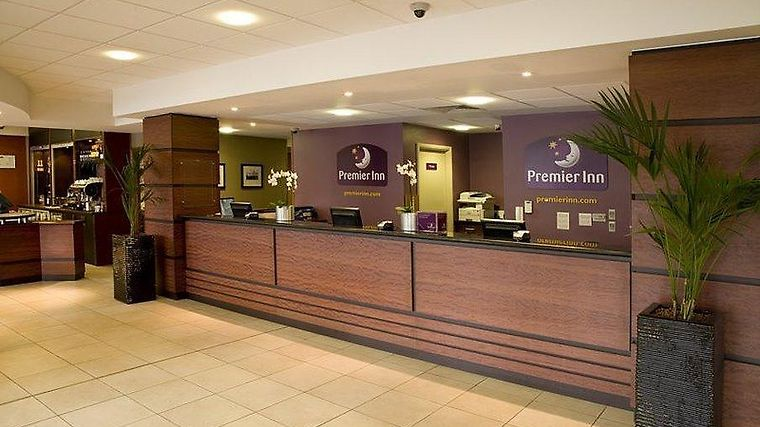 Premier Inn London City Interior