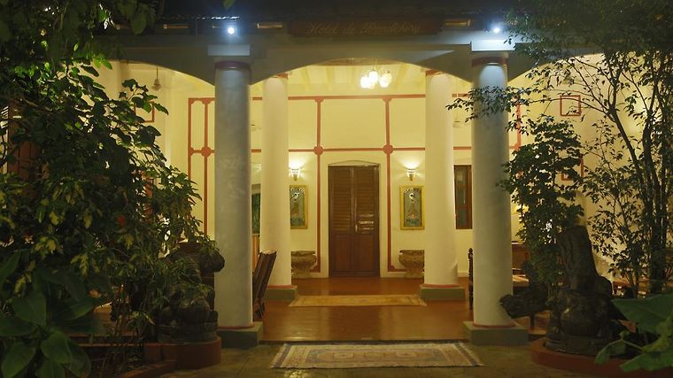 Hotel De Pondicherry Exterior Hotel information