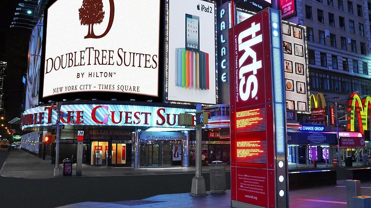 Doubletree Suites By Hilton Hotel New York City - Times Square Exterior