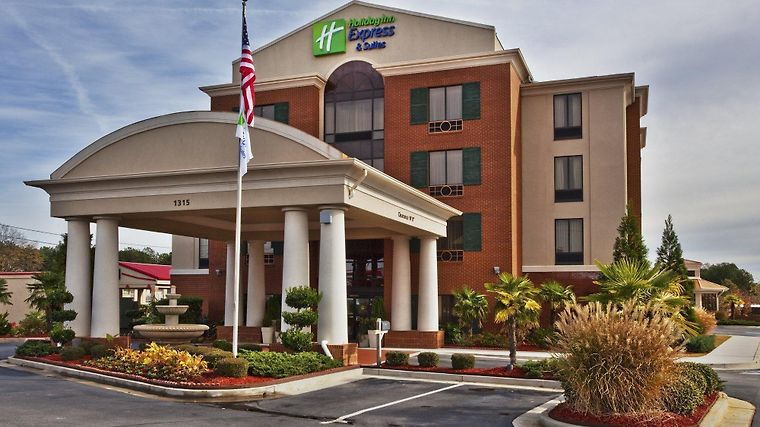 Holiday Inn Express & Suites Mcdonough Exterior