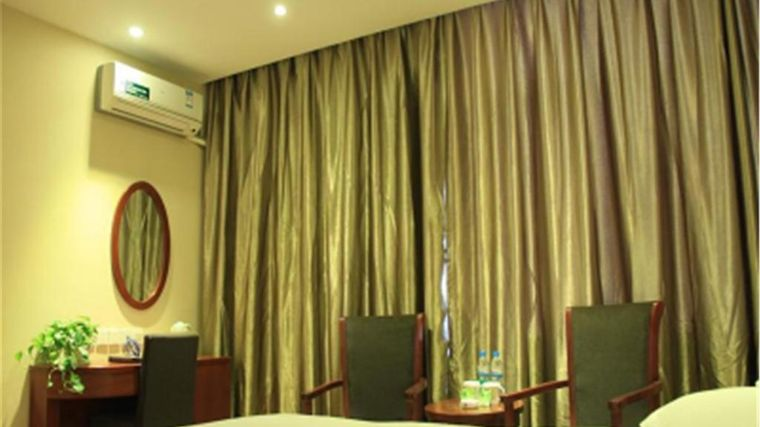Greentree Inn Shandong Jinan West Market Weiba Road Business Hotel Room
