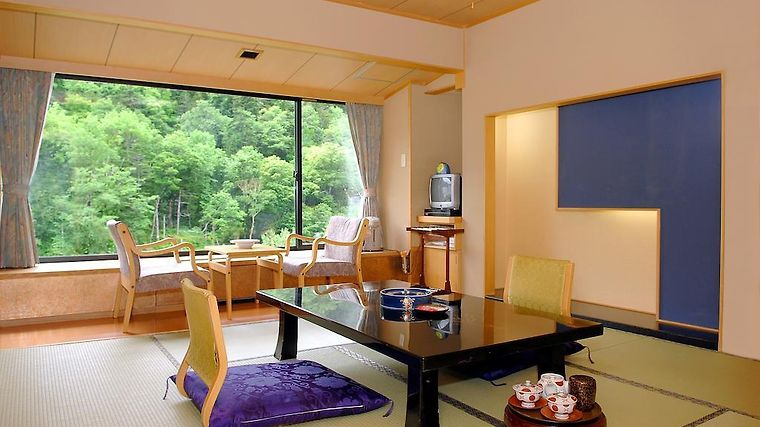 Sounkyo Kanko Hotel Room