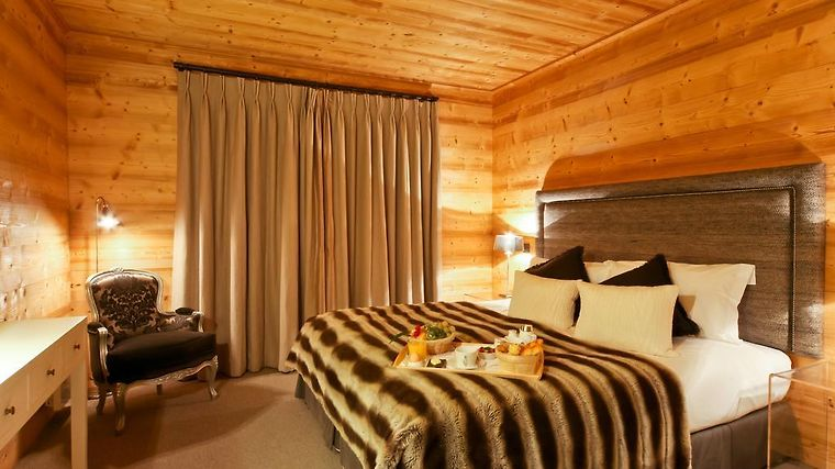 Hotel Le Chalet Blanc Room
