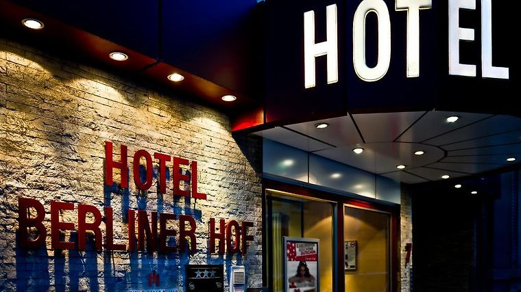 City Partner Hotel Berliner Hof Exterior Hotel information