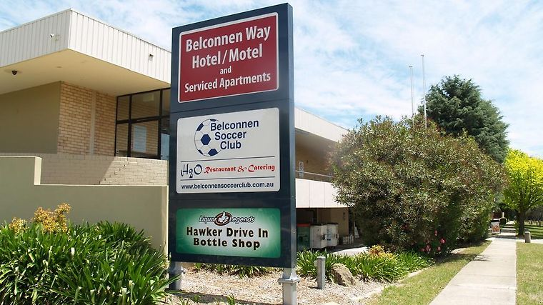 Belconnen Way Motel And Serviced Apartments Exterior Hotel information