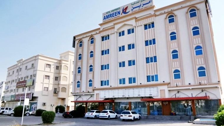 Amreen Sohar Hotel Apartments Exterior
