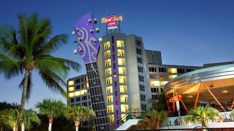 Hard Rock Hotel Pattaya Exterior