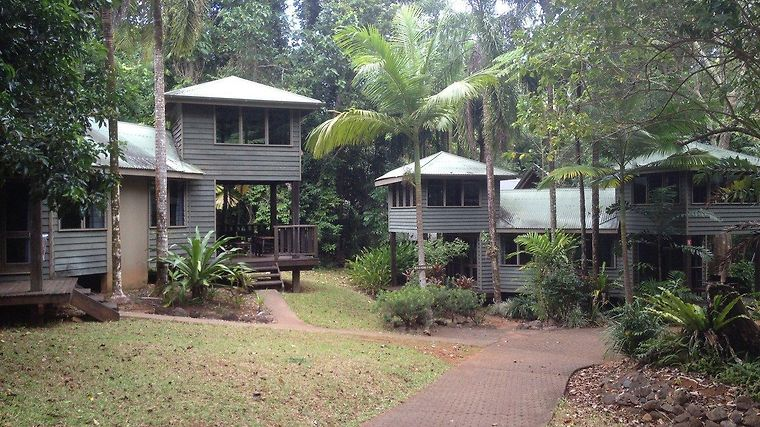 Ferntrees Rainforest Lodge Exterior
