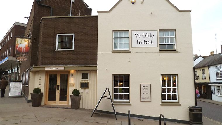 Ye Olde Talbot Worcester Exterior Exterior View