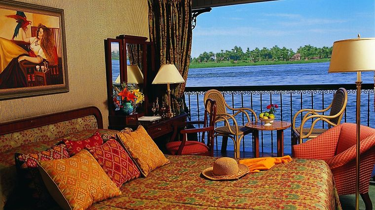 The Oberoi Philae Nile Cruiser Exterior Guest room