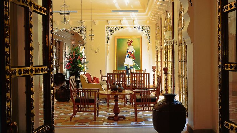 The Oberoi Rajvilas photos Interior Reception/Lobby