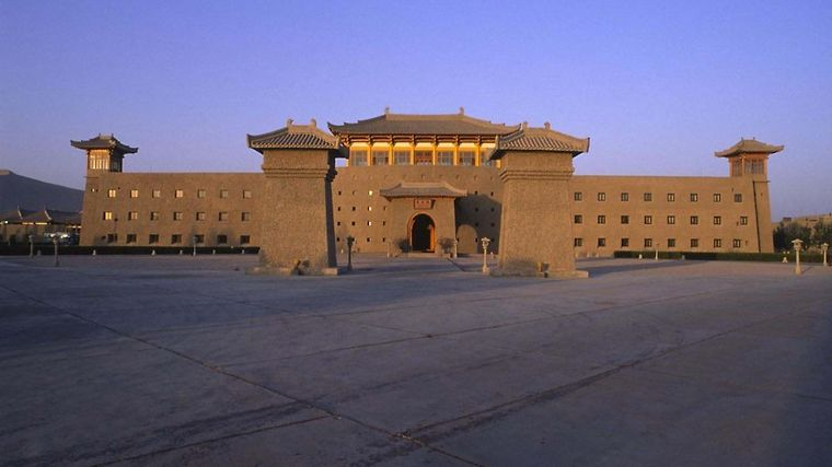 The Silk Road Dunhuang Hotel Exterior