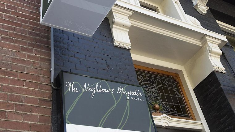 The Neighbour S Magnolia Exterior