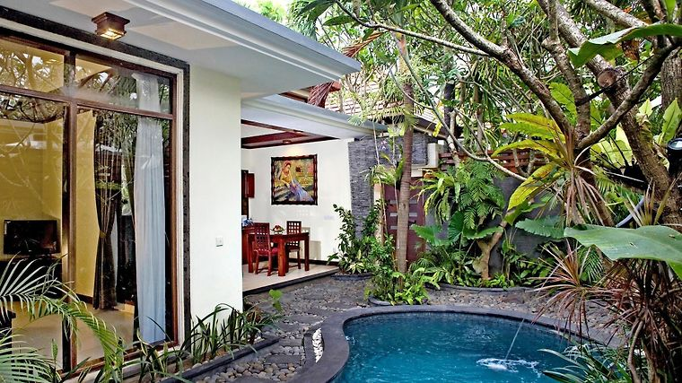 The Bali Dream Suite Villa Exterior