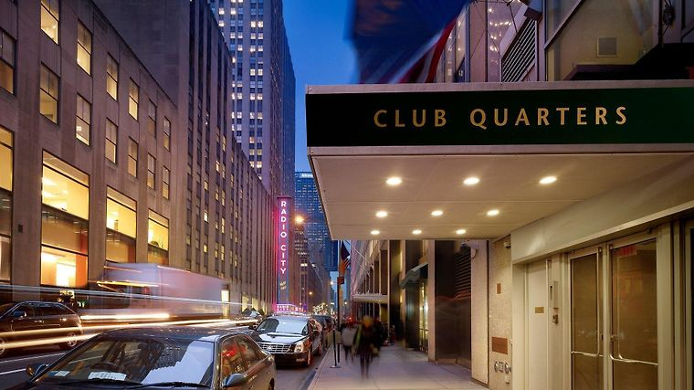 Club Quarters Opp. Rock Center Exterior