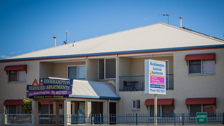 Rockhampton Serviced Apartments Exterior