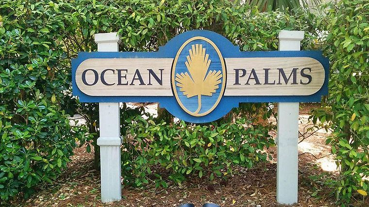 Ocean Palms Resort Exterior