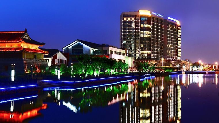 Howard Johnson Wuzhong Business Club Hotel Suzhou Exterior