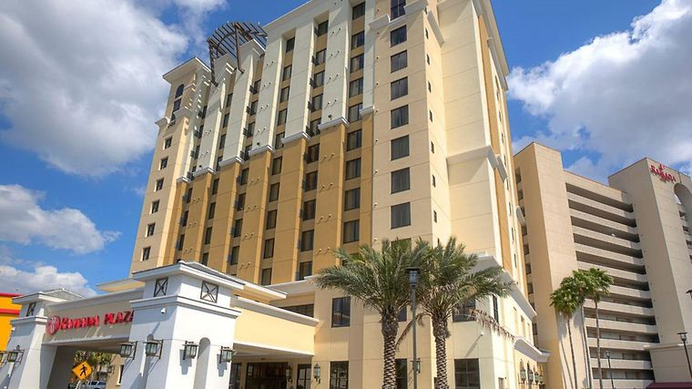 Ramada Plaza Resort & Suites International Drive Orlando Hotel Exterior
