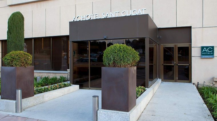 Ac Hotel Sant Cugat By Marriott Exterior