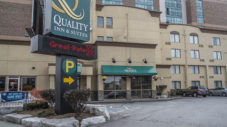 Quality Inn And Suites Exterior