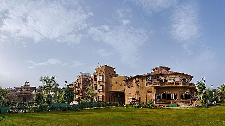 Nirali Dhani Ethnic Heritage Hotel And Resort Exterior