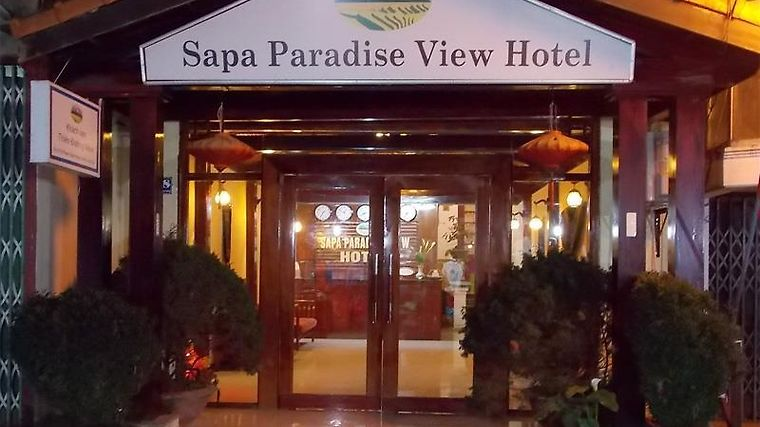 Sapa Paradise View Hotel photos Exterior