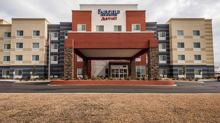Fairfield Inn & Suites Meridian Exterior