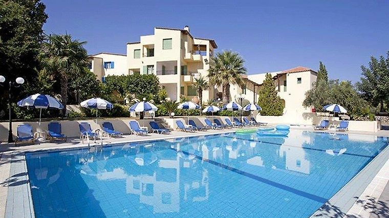 °HOTEL SILVIA APARTMENTS HERSONISSOS (CRETE) 4* (Greece)   From US$ 43 |  BOOKED