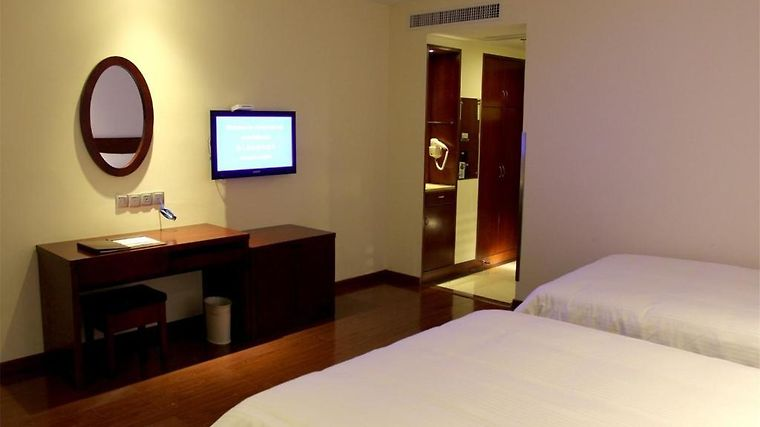 Greentree Inn Yiwu International Trade City Traders Hotel Room
