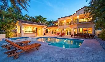 miami beach 5 bedroom villa tuscany salt water pool south beach fl united states booked big houses with pools slides