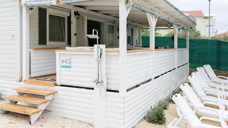 MOBILE HOMES VODICE WITH TERRACE VODICE (Croatia) | BOOKED