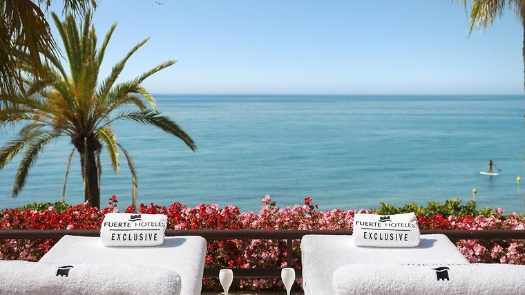 hotel fuerte marbella spain from us booked