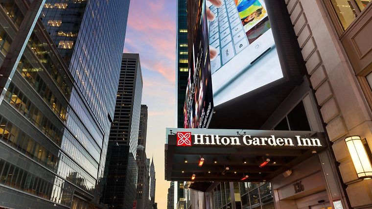 °HOTEL HILTON GARDEN INN NEW YORK TIMES SQUARE CENTRAL NEW YORK, NY 3*  (United States)   From US$ 348 | BOOKED