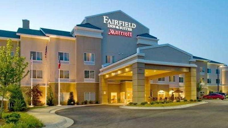 Fairfield Inn & Suites Columbus Exterior