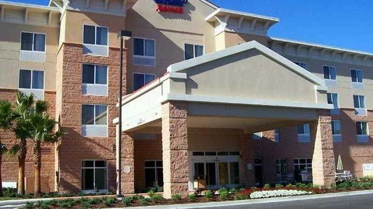 Fairfield Inn & Suites Palm Coast I-95 Exterior