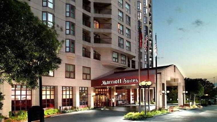 Atlanta Marriott Suites Midtown Exterior