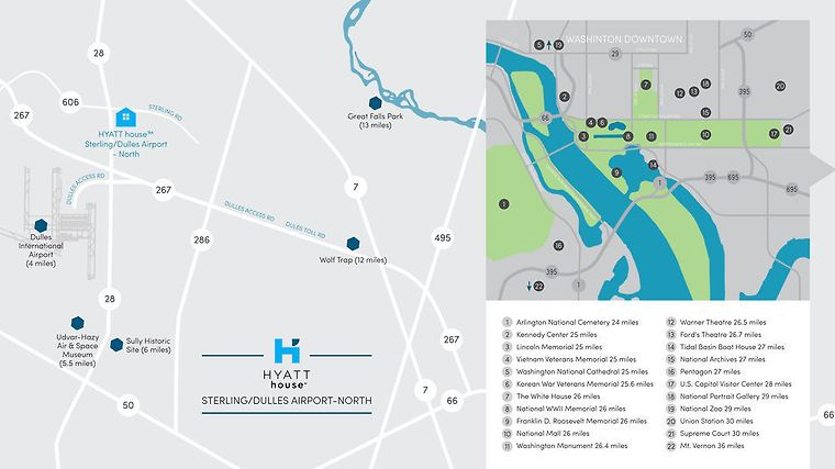 Iad Airport Map. Luenfant Plaza Station With Iad Airport Map ...