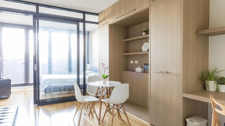 Fulton Lane Luxury Studio Apartment Melbourne Australia From Us 232 Booked