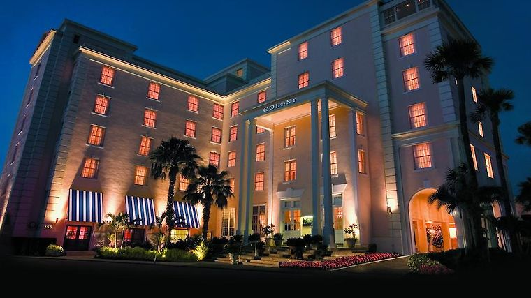 The Colony Palm Beach Exterior Hotel information