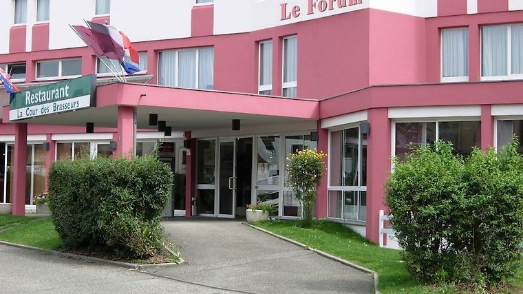 Inter-Hotel Le Forum Exterior Hotel information