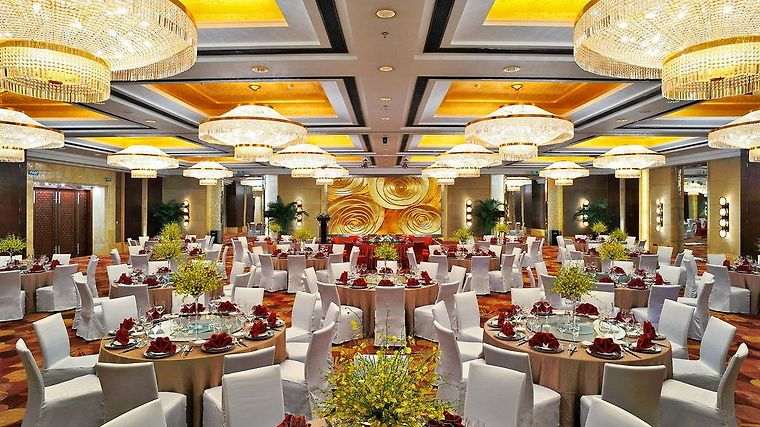 Howard Johnson Plaza Waigaoqiao Restaurant Hotel information